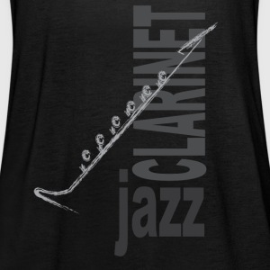 Jazz Clarinet - Women's Tank Top by Bella