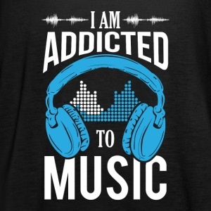 I Am Addicted To Music - Women's Tank Top by Bella