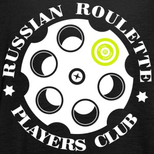 Russisk Roulette Players Club logo 4 Sort - Dame tanktop fra Bella