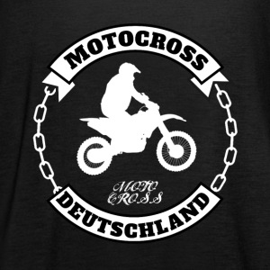 Motocross Germany - Women's Tank Top by Bella