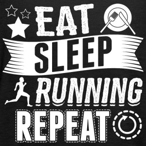 corriendo EAT SLEEP Runner - Camiseta de tirantes mujer, de Bella