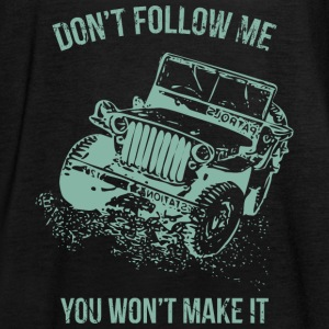 Follow Me Jeep Car - Women's Tank Top by Bella