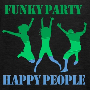 Funky Party Happy People - Women's Tank Top by Bella