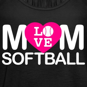 Mom love softball - Women's Tank Top by Bella