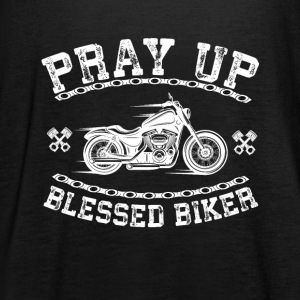 Blessed Biker - pray up - Women's Tank Top by Bella