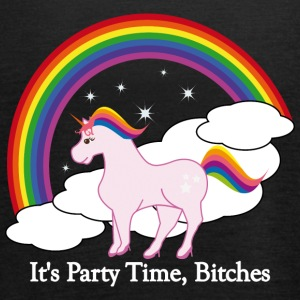 Party Time Unicorn - Vrouwen tank top van Bella