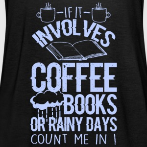 Coffee and books - Women's Tank Top by Bella