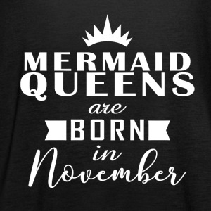 Mermaid Queens november - Vrouwen tank top van Bella