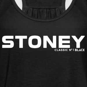 STONEY Classic No.1 BLACK - Vrouwen tank top van Bella