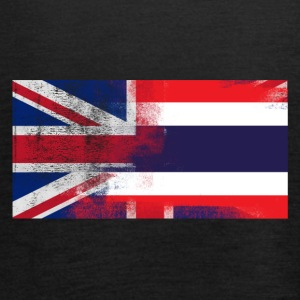British Thai Half Thailand Half UK Flag - Women's Tank Top by Bella