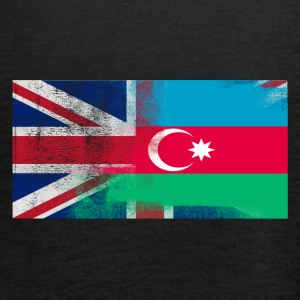 British Azerbaijani Half Azerbaijan Half UK Flag - Women's Tank Top by Bella