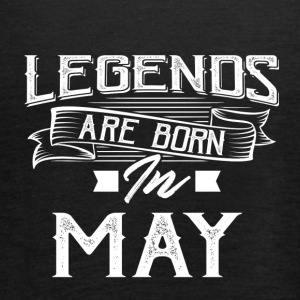 Legends are born in May - Women's Tank Top by Bella