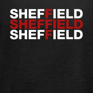 Sheffield United Kingdom Flag Shirt - Sheffield - Singlet for kvinner fra Bella