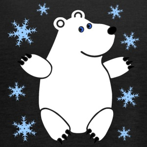 Polar Bear - Tank top damski Bella