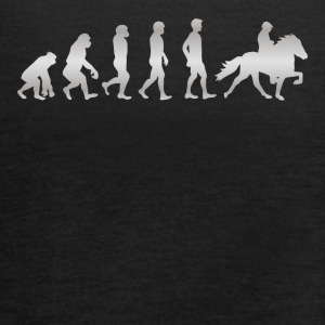 It's just Evolution - REITEN! - Frauen Tank Top von Bella