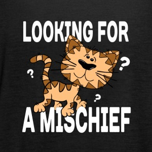 Cartoon cat looking for a mischief - Women's Tank Top by Bella