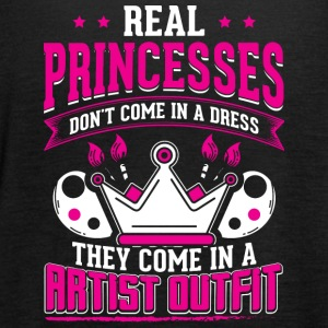 REAL PRINCESSES artist - Women's Tank Top by Bella