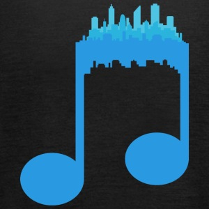Music City - Musica - Top da donna della marca Bella
