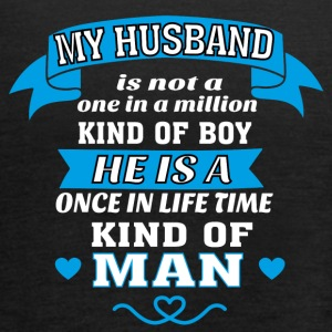 My Husband is One in Lifetime Kind of MAN - Women's Tank Top by Bella