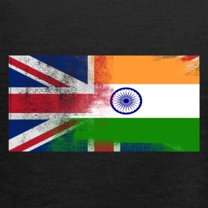 British Indian Half India Half UK Flag - Tanktopp dam från Bella