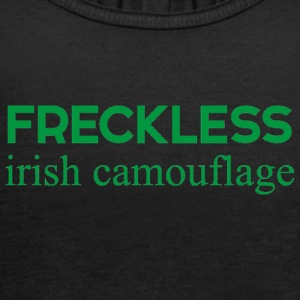 Irland / St. Patricks Day: Irsk Freckless Camou - Dame tanktop fra Bella