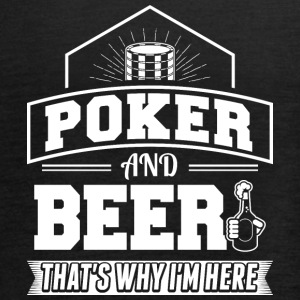 Poker AND BEER - Women's Tank Top by Bella