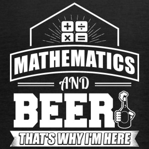 Mathematics AND BEER - Women's Tank Top by Bella