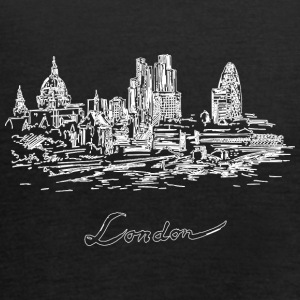 London City - Reino Unido - Camiseta de tirantes mujer, de Bella