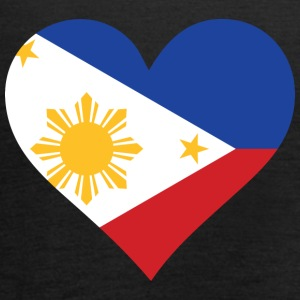 A Heart For The Philippines - Women's Tank Top by Bella