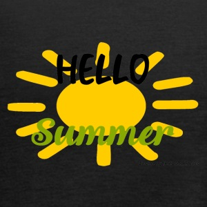 SunHelloSummer - Women's Tank Top by Bella