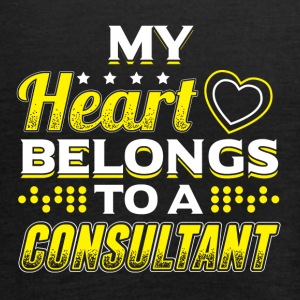 My Heart Belongs To A Consultant - Women's Tank Top by Bella