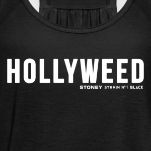 HOLLYWEED Strain No.1 BLACK - Singlet for kvinner fra Bella