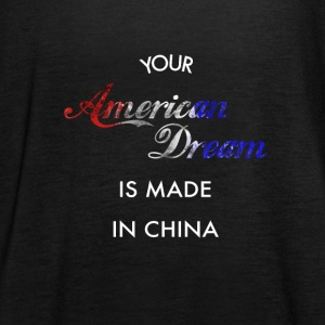 American Dream made in China - Frauen Tank Top von Bella