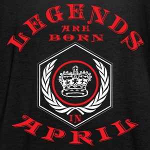 Legends April born birthday gift birth - Women's Tank Top by Bella