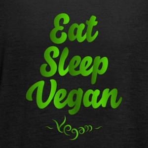 Eat Sleep Vegan - Vrouwen tank top van Bella