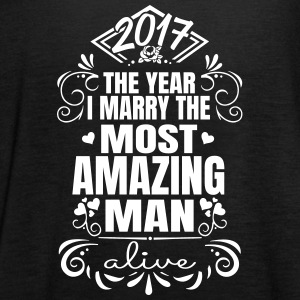 Wedding / Engagement 2017 Best Man - Vrouwen tank top van Bella
