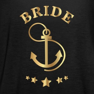 Bride Anchor Design - Women's Tank Top by Bella