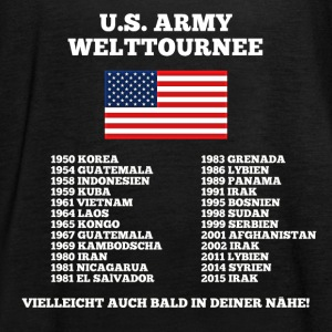 US Army World Tour - Vrouwen tank top van Bella