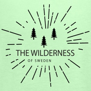The Wilderness Of Sweden - Singlet for kvinner fra Bella