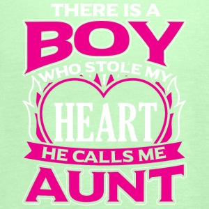 AUNT - THERE IS A BOY WHO STOLE MY HEART - Women's Tank Top by Bella