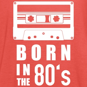 Kassette born in the 80's - Frauen Tank Top von Bella
