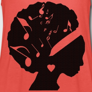 DONNA_MUSICA - Women's Tank Top by Bella