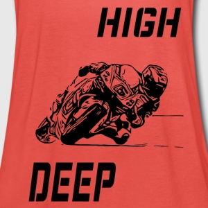 Rennmaschine high deep - Frauen Tank Top von Bella