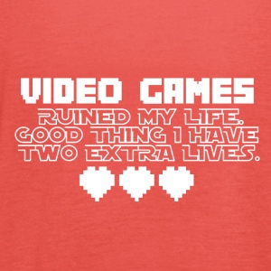 Video Games - More Lives - Women's Tank Top by Bella