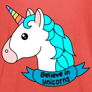 Believe in unicorns - Women's Tank Top by Bella