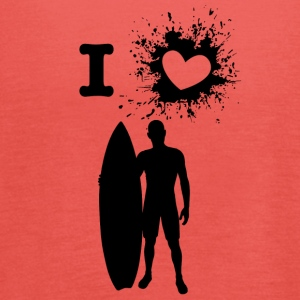 ILove surfing - Women's Tank Top by Bella