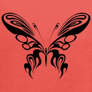 Tribal tatovering Butterfly / Butterfly / Butterfly - Dame tanktop fra Bella