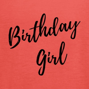 USA TRADEMARKED birthday girl black - Frauen Tank Top von Bella