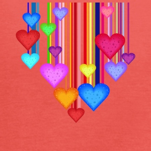 colorful hearts - Women's Tank Top by Bella