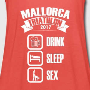 Mallorca Triathlon 2017 Drink & Seks - Tank top damski Bella